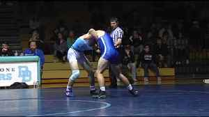 Exeter v. DBAHS wrestling highlights 12.12.18 [Video]