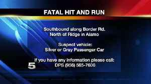 Pedestrian Killed in Hit-and-Run Accident, DPS Searching for Driver [Video]