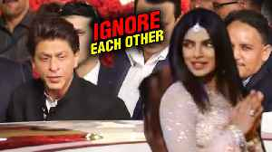 Shah Rukh Khan And Priyanka Chopra IGNORE Each Other At Isha Ambani Wedding ? [Video]