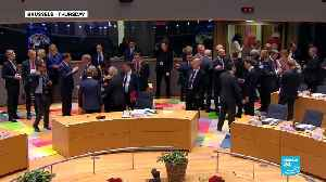 EU leaders rebuff UK PM May's plea over Brexit agreement