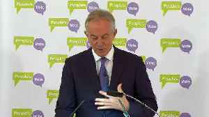 Tony Blair: The country is in crisis [Video]