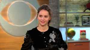 Felicity Jones on spending time with Ruth Bader Ginsburg for
