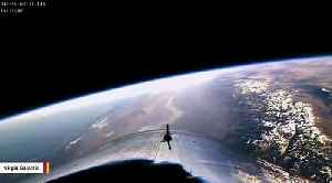 Virgin Galactic's SpaceShipTwo Captured A Video From Edge Of Space [Video]