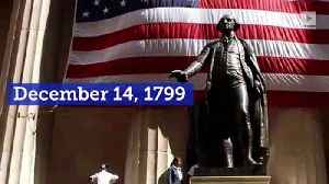 This Day in History: First US President George Washington Dies [Video]