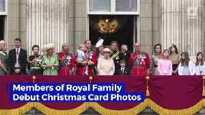 Members of Royal Family Debut Christmas Card Photos [Video]