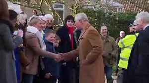 Prince Charles pulls pints and plays darts in Gloucestershire [Video]