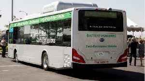 California to Phase In Electric, Fuel-Cell Transit Buses [Video]