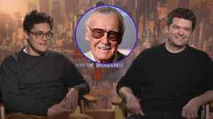 'Into the Spider-Verse': Phil Lord and Chris Miller on Paying Tribute to Stan Lee (Exclusive) [Video]