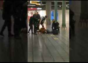 Police Detain Knife-Wielding Man at Airport in Amsterdam [Video]