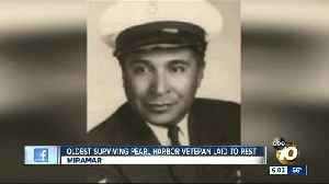 Oldest survivor of Pearl Harbor attack, laid to rest [Video]