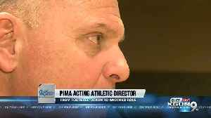 Pima's Jim Monaco: From outgoing football coach to interim athletic director [Video]