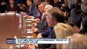 Gov.-elect Gretchen Whitmer meets with President Trump at the White House [Video]