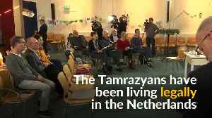 Dutch church holds marathon session to stop family's deportation [Video]