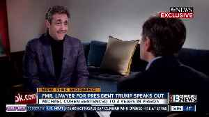 Michael Cohen sits down with ABC [Video]