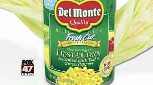 Del Monte recalls canned Fiesta Corn [Video]
