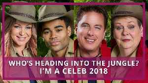 I'm A Celeb 2018 | Meet The Stars Of The Jungle [Video]