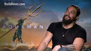Aquaman's Jason Momoa talks sequels and Justice League 2 [Video]