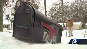 Who will pay for mailboxes that were damaged by snow plows? [Video]