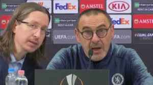 Sarri: I didn't hear any racist abuse [Video]