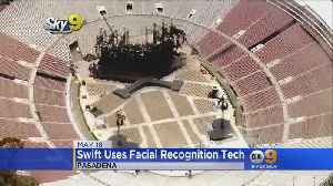 Report: Taylor Swift Secretly Used Facial Recognition On Fans During Rose Bowl Show [Video]