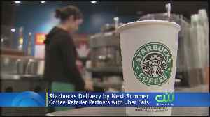 Starbucks Announces Delivery Partnership With Uber Eats [Video]