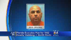 State Executes South Florida Man For Murdering Woman 26 Years Ago [Video]
