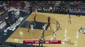 Duquesne Remains Perfect At Home [Video]