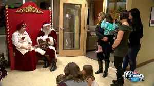 Holiday dinner comes early for sick children and their families [Video]