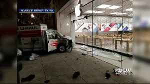 Would-Be Smash-n-Grab Thieves Driving U-Haul Stymied at Berkeley Apple Store Gate [Video]