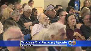 Woolsey Fire Victims Get Recovery Update [Video]