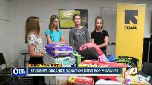 News video: School project on refugees hits close to home for middle schoolers