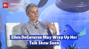 Is Ellen DeGeneres About To Call It Quits [Video]