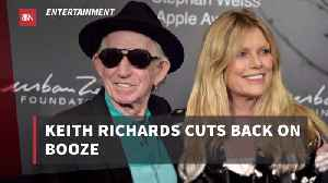 Keith Richards decides To Get Sober Before His 75th Birthday [Video]