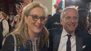 Meryl Streep And Marc Platt Bring Positivity To 'Mary Poppins Returns' Premiere [Video]