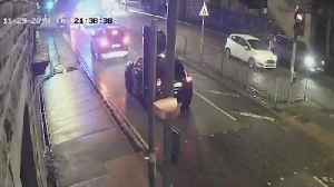 Hunt For Car Thief Who Run Over Police Officer And Fled On Two Wheels [Video]