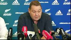 All Blacks coach Hansen to step down after 2019 Rugby World Cup [Video]