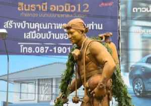 Statue to Navy SEAL Killed in Cave Rescue Erected in Thailand [Video]