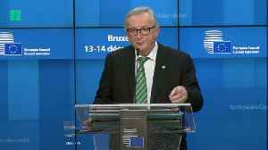 European Commission To Publish Details Of No-Deal Contingency Plan [Video]