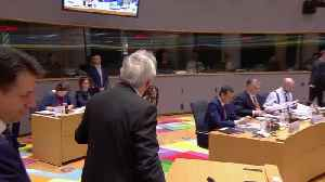 Theresa May and Jean-Claude Juncker's Heated Exchange Ahead Of EU Summit [Video]