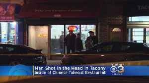 Police: Man Shot Once In Head Inside Chinese Restaurant In Tacony [Video]