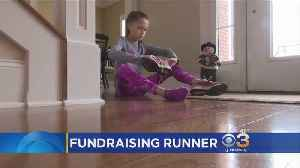 11-Year-Old Girl Runs To Raise Money For Young Cancer Patients [Video]