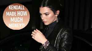 Kendall Jenner is highest-paid model of the year (AGAIN) [Video]