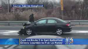 Armored Car Spilling Cash On Route 3 Causes Multiple Crashes As People Rush To Grab Money [Video]