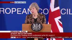 Theresa May Explains Argument With EU Chief [Video]