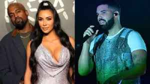 Kim and Kanye Tell Drake to Stop Threatening Their Family [Video]