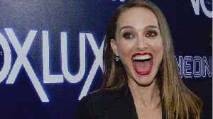 Natalie Portman Was Accidentally Texting Meryl Streep [Video]