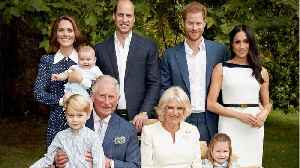 Channel24.co.za | The royal family share their 2018 Christmas cards: George, Charlotte, and little Louis steal the show [Video]