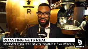 The New NYC Starbucks Is Unlike Any Other Starbucks You've Visited [Video]
