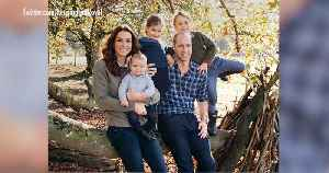 Will and Kate's Christmas Card Is Here — and It's the Most Casual Photo Yet of the Royal Children! [Video]
