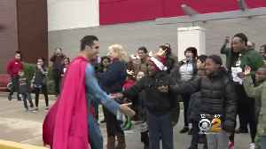 Police, Superheroes Become Personal Shoppers For Needy Kids [Video]
